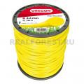 Леска Oregon 69-367-Y Yellow Line Roundline 2.4мм 180м