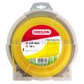 Леска Oregon 69-408-Y Yellow Squareline 2.0мм 108м